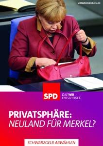 Schwarz-Gelb abwählen Merkel Neuland