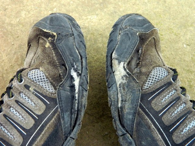 shoes after Vulcano