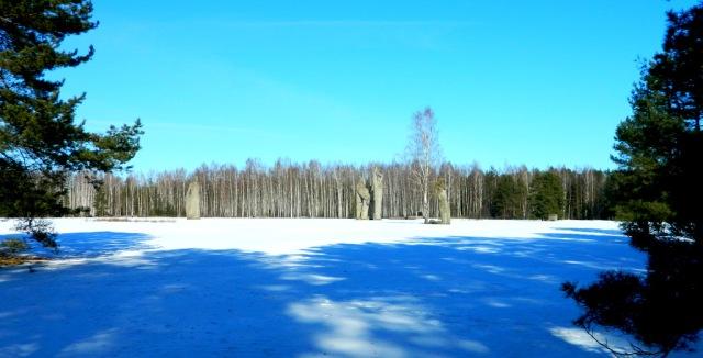 Lichtung Salaspils