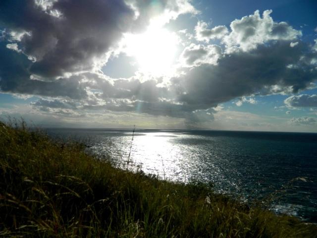 sun clouds west coast Lipari
