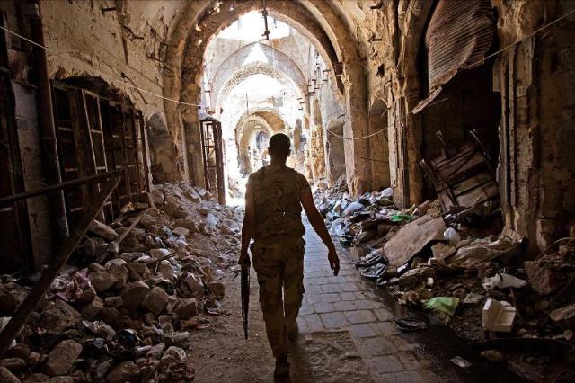 Aleppo destroyed