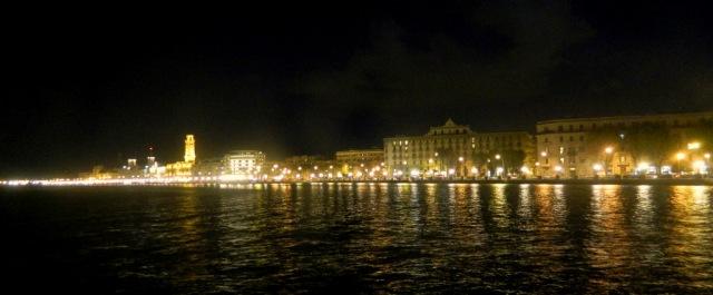 lungomare Bari night