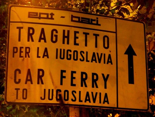 ferry Yugoslavia