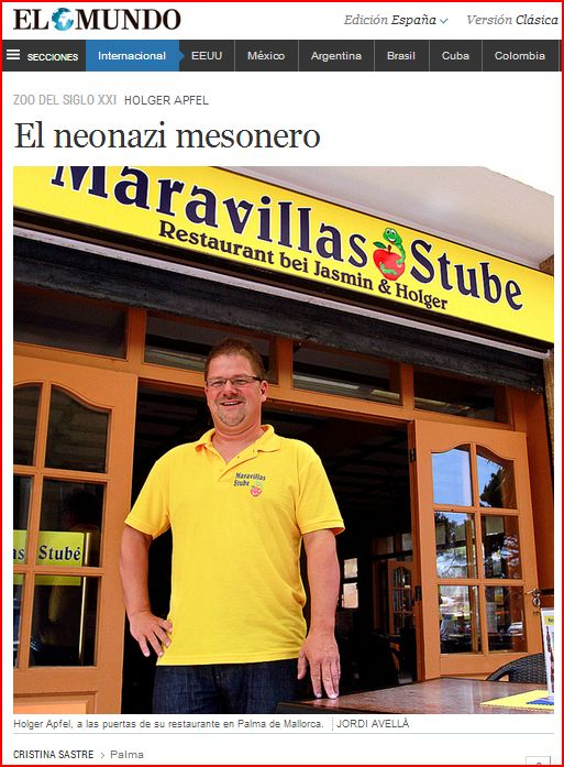 Holger Apfel Mallorca