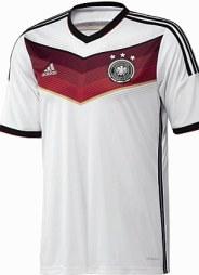 DFB-Trikot schwarz-weiss-rot