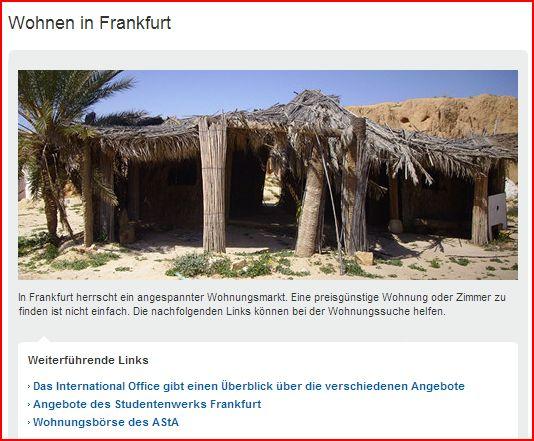 Wohnen in Frankfurt