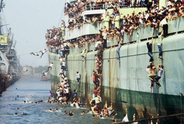Albania 1991 refugees