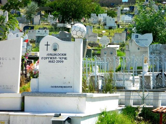 Fussball Friedhof