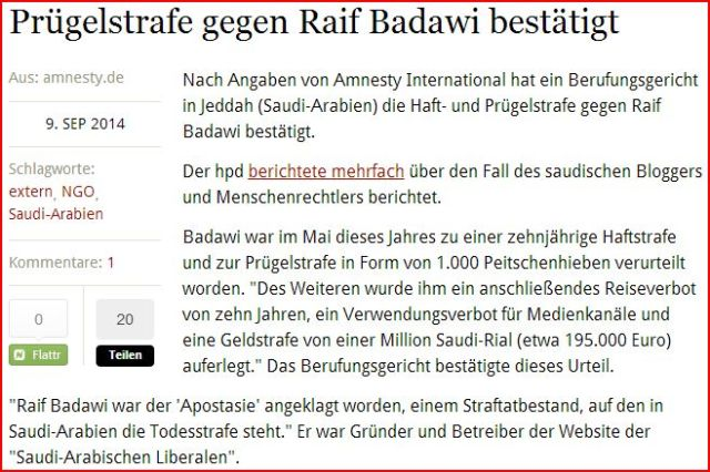 Raif Badawi DE