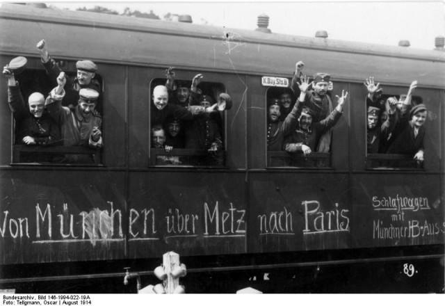 Zug Erster Weltkrieg
