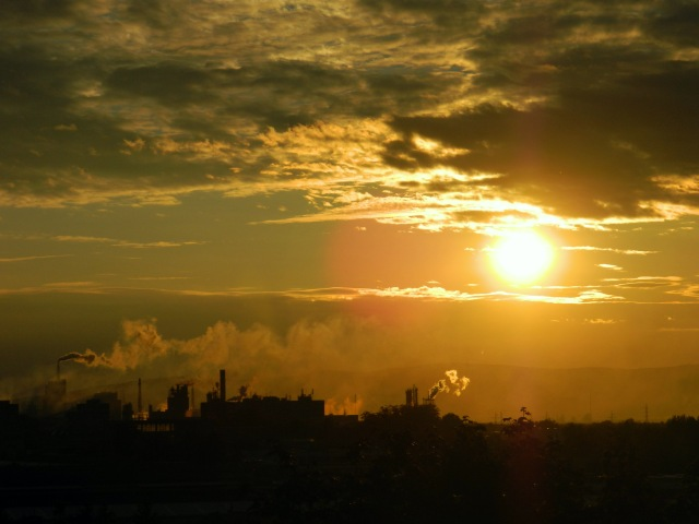 factory sunset 2
