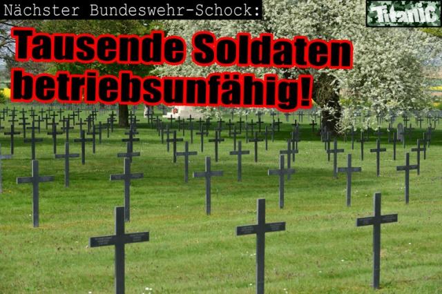 Soldaten Bundeswehr betriebsunfähig
