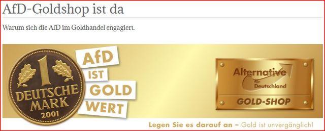 AfD-Goldhandel