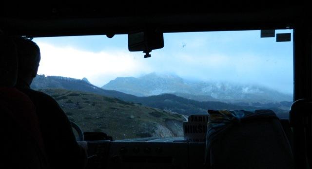 bus Zabljak mountains