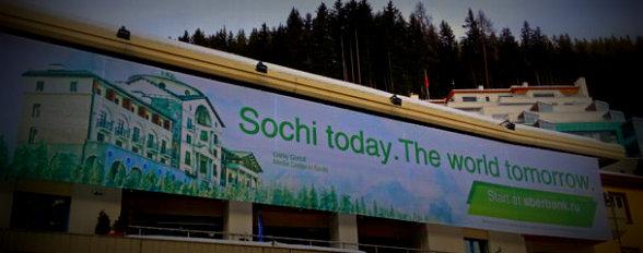 Sochi today the world tomorrow