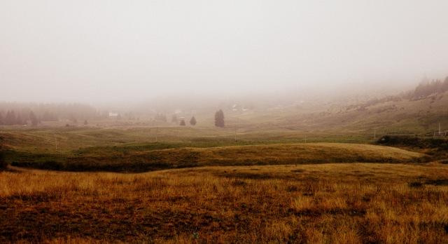 Zabljak highlands spooky
