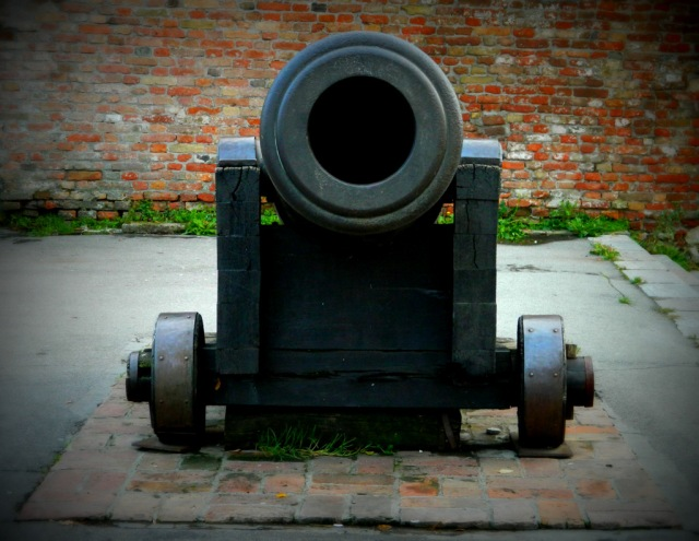cannon front