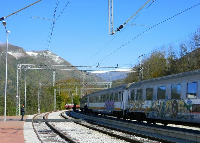 Kolasin Bahnhof