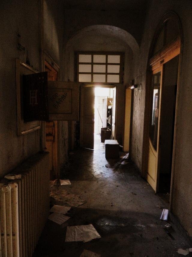 Russian embassy corridor