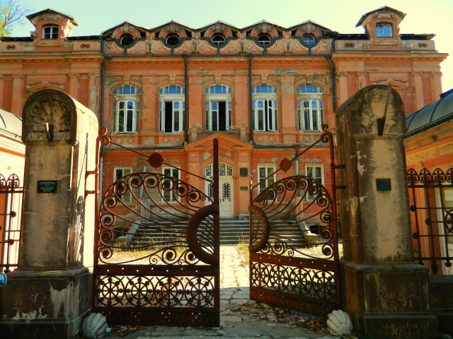 Russian embassy gate