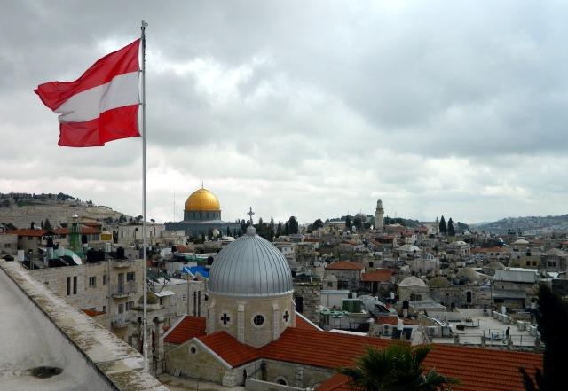 Ö Flagge Jerusalem