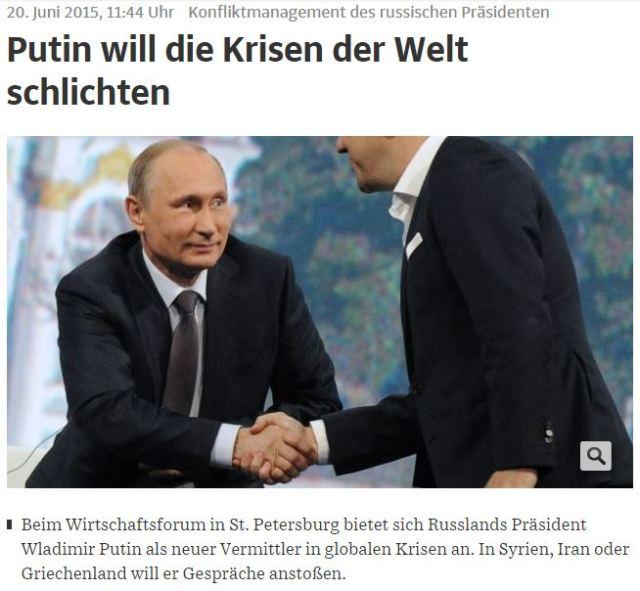 Putin Schlichter