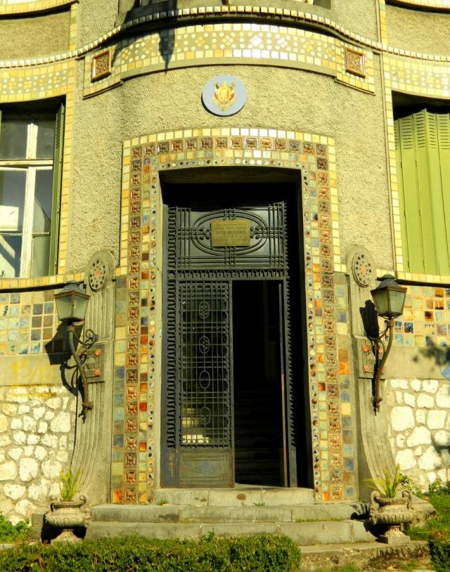 French embassy door