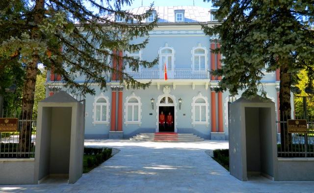 palace president Montenegro