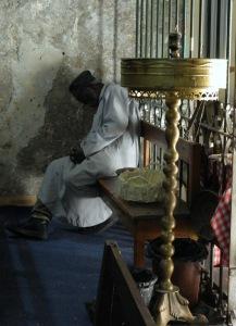schlafender Äthiopier