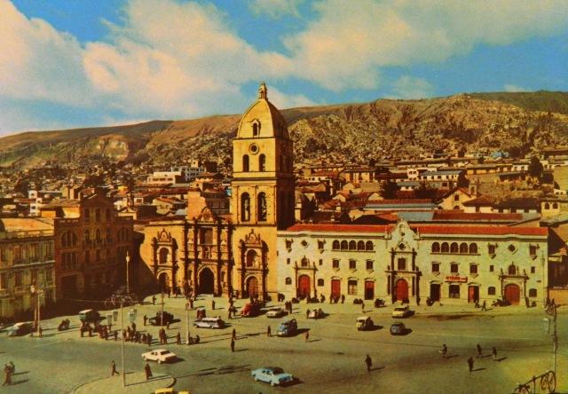 postcard La Paz