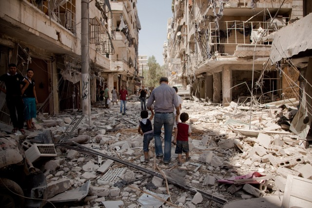 Aleppo, Syria - 07/12