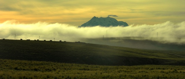 Wolken Illimani 2