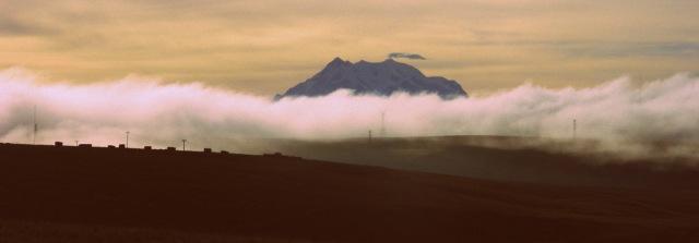 Wolken Illimani 3