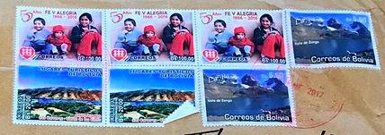 Briefmarken Bolivien