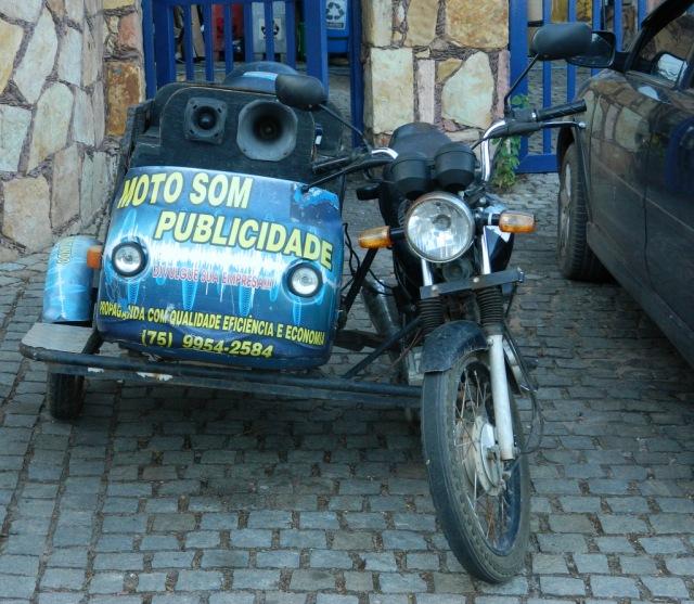 Moto-Werbung