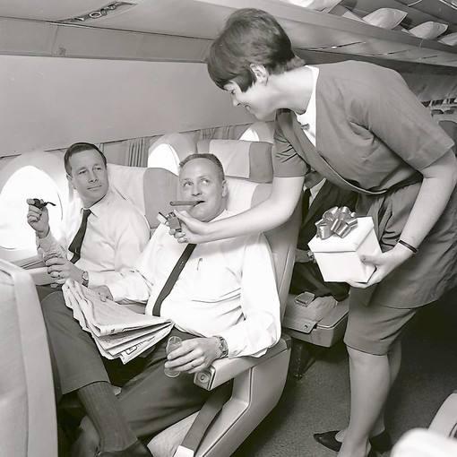 Rauchen Flugzeug