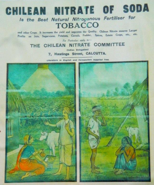 Plakat Tabak Indien