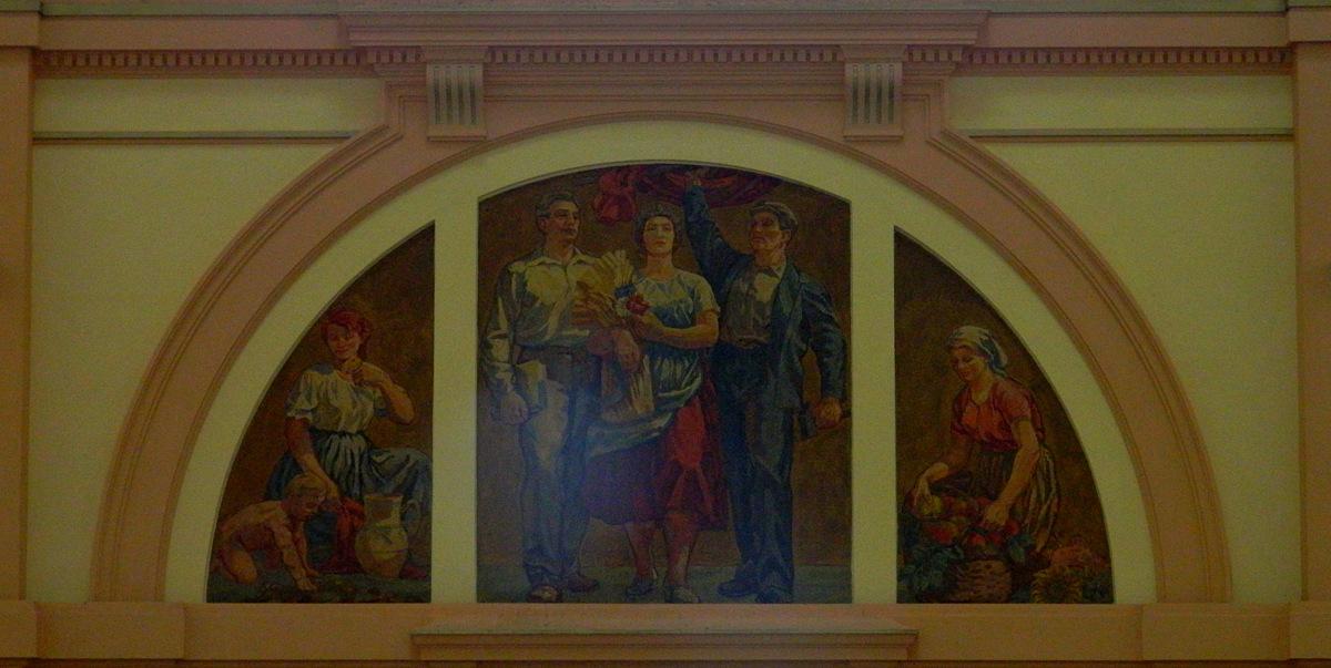 Mural Bauern