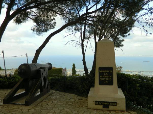 Wilhem II Haifa