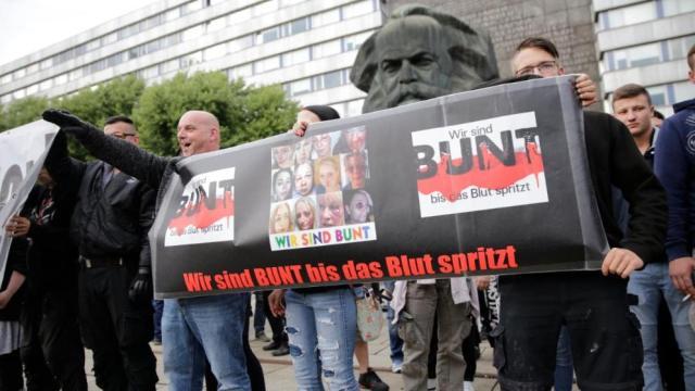 Chemnitz Hitlergruss