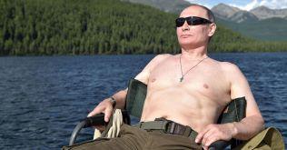 Putin sonnt sich
