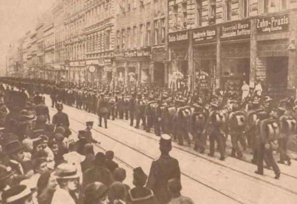 Görlitz griechische Truppen