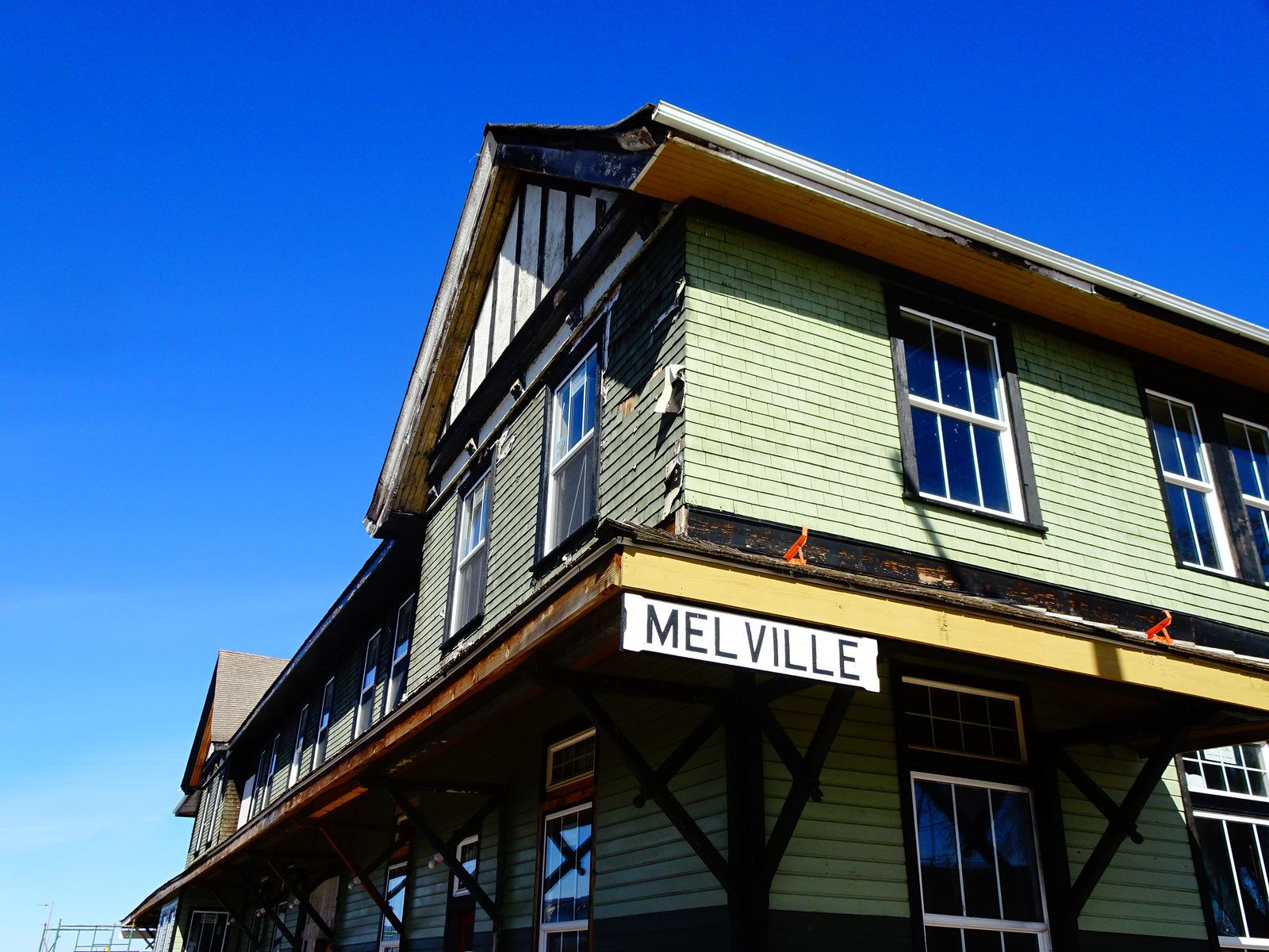 Melville Bahnhof.JPG