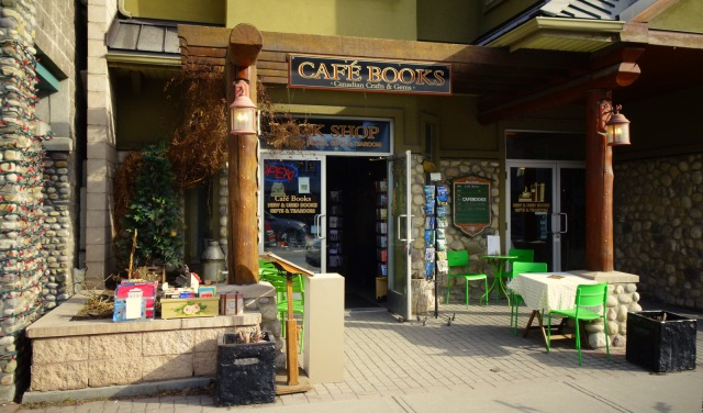 Cafe Books front Canmore