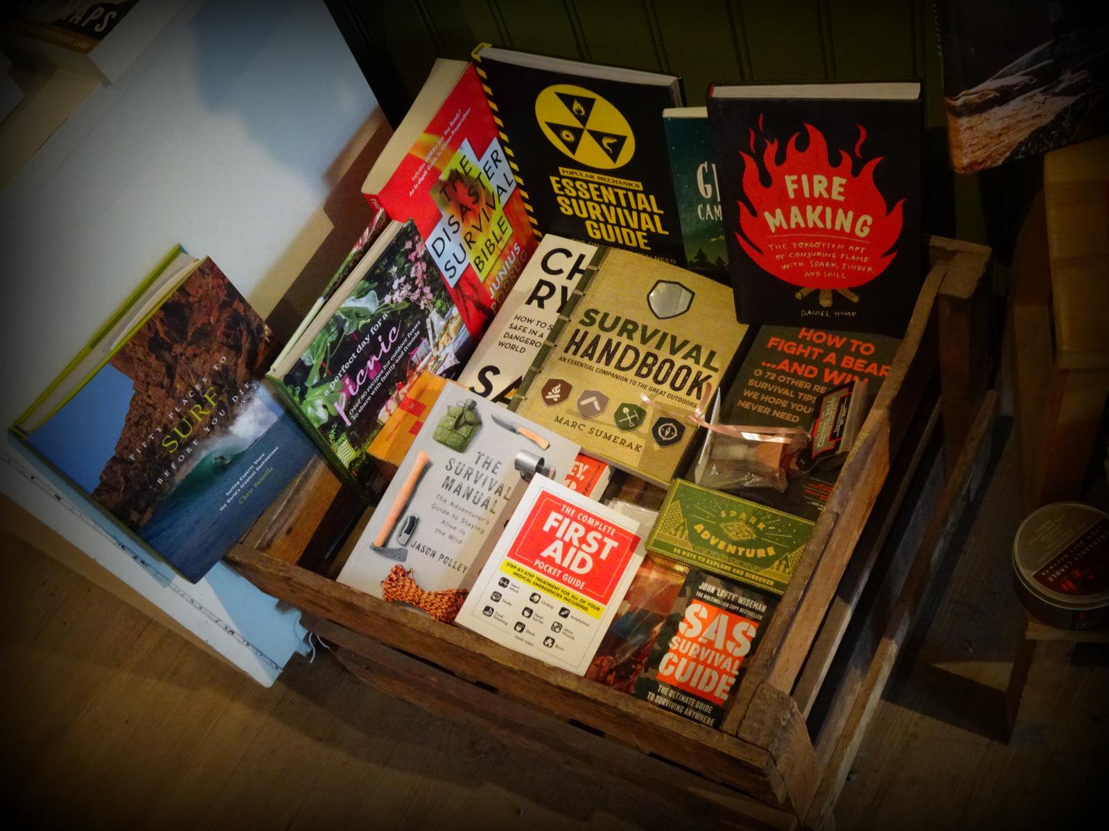 Cafe Books survival books