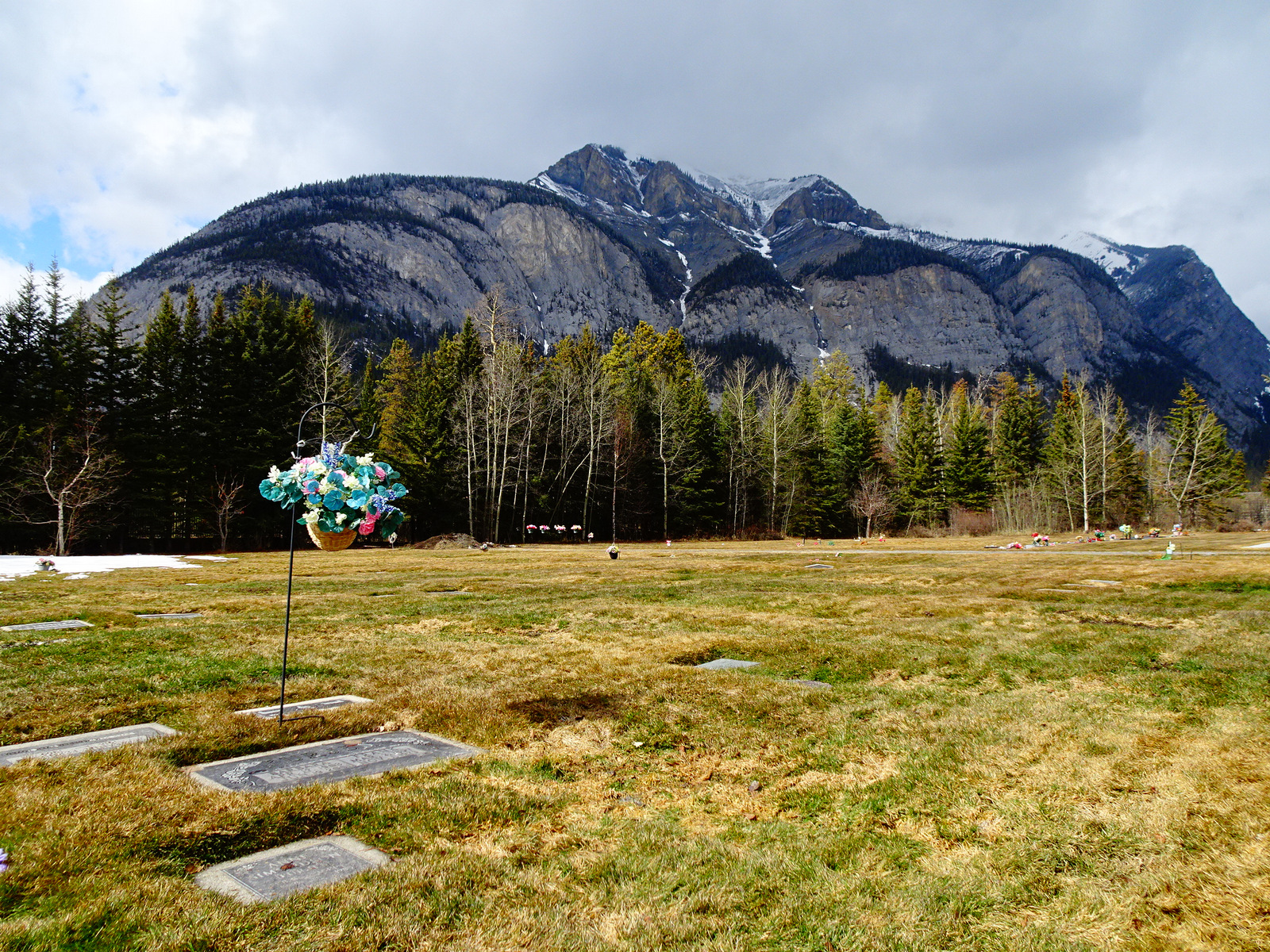 cemetry with mountain view Banff.JPG
