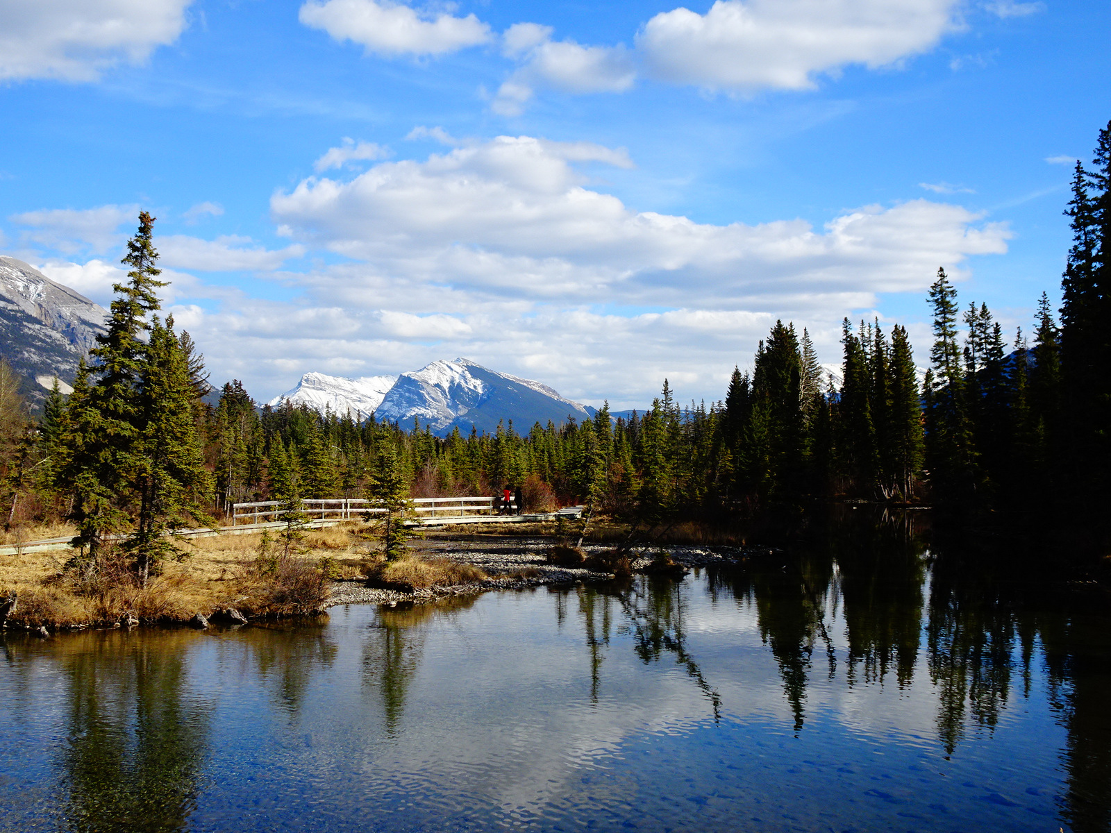 first view in Canmore