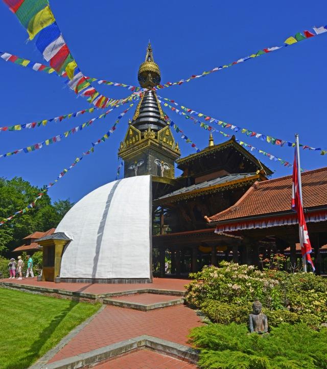 Tempel hoch
