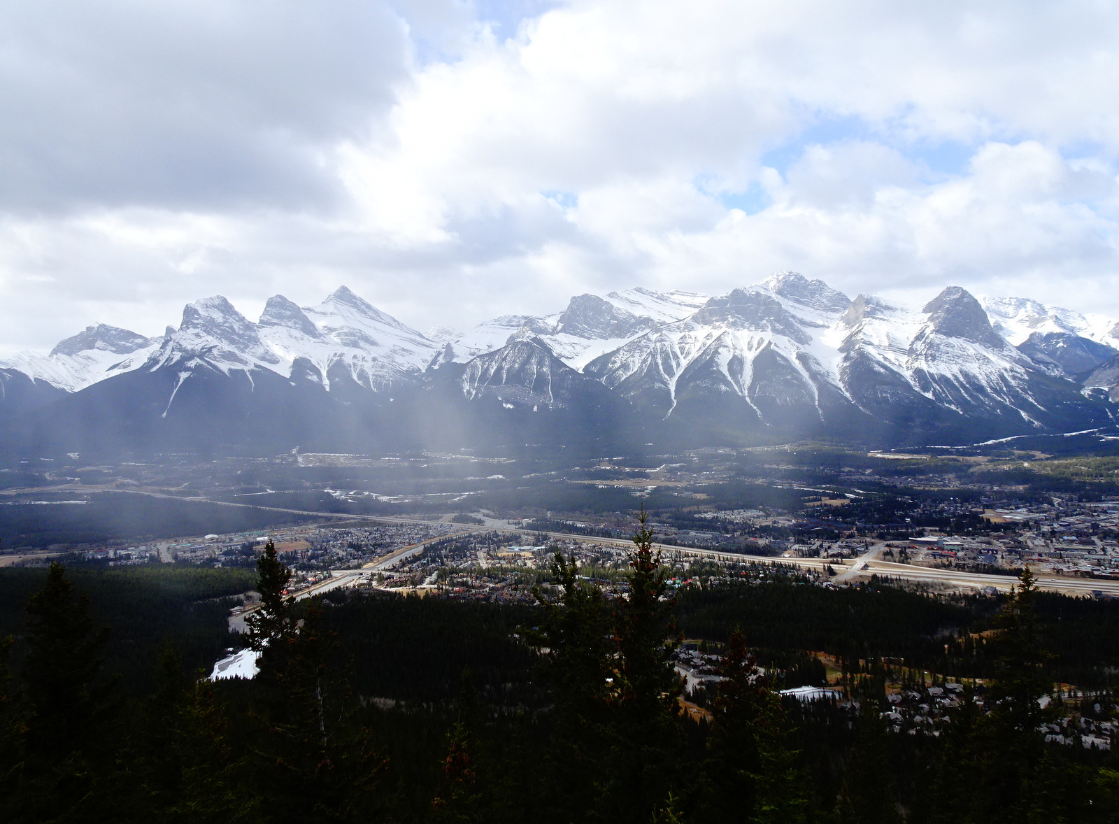 view from Mount Lady MacDonald 2