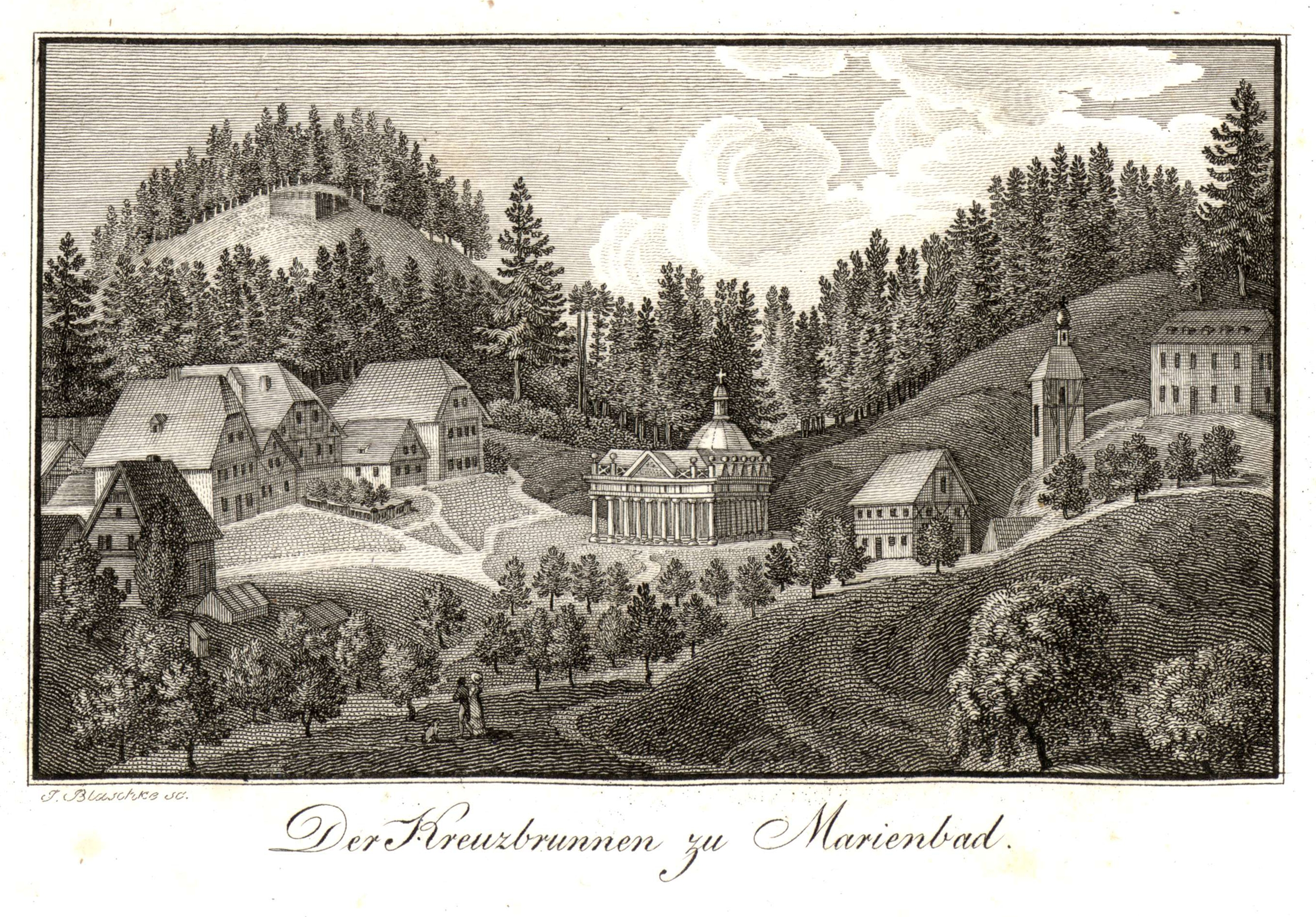 der_kreuzbrunnen_zu_marienbad2c_copper_engraving2c_early_19._century